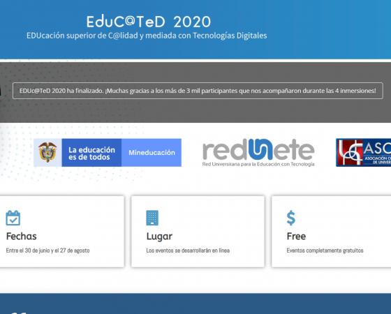 EduC@TeD 2020